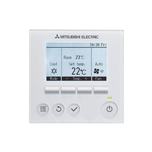 Hard Wired Mitsubishi Electric air conditioning 289124 PAR32MAA-J Deluxe Hard Wired Remote Controller